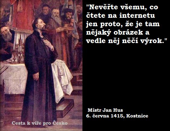 Hoax Jan Hus islám
