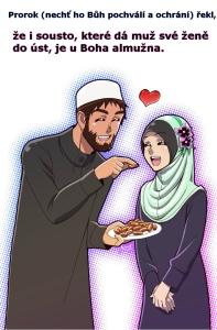 Islám, Almužna sousto