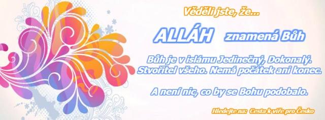 Allah - islam sharia4czechia saria pro cesko