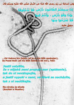 Ebola virus hadis islam