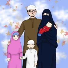 islamska rodina