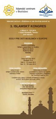 3. islamsky kongres slovensko