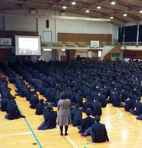 Přednáška o islámu v Japonsku