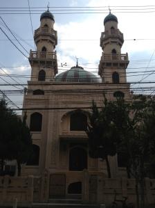 Mešita v Kobe dnes